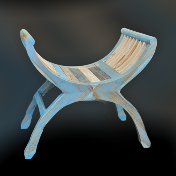 Teak Wood Yuyu Chair (S)