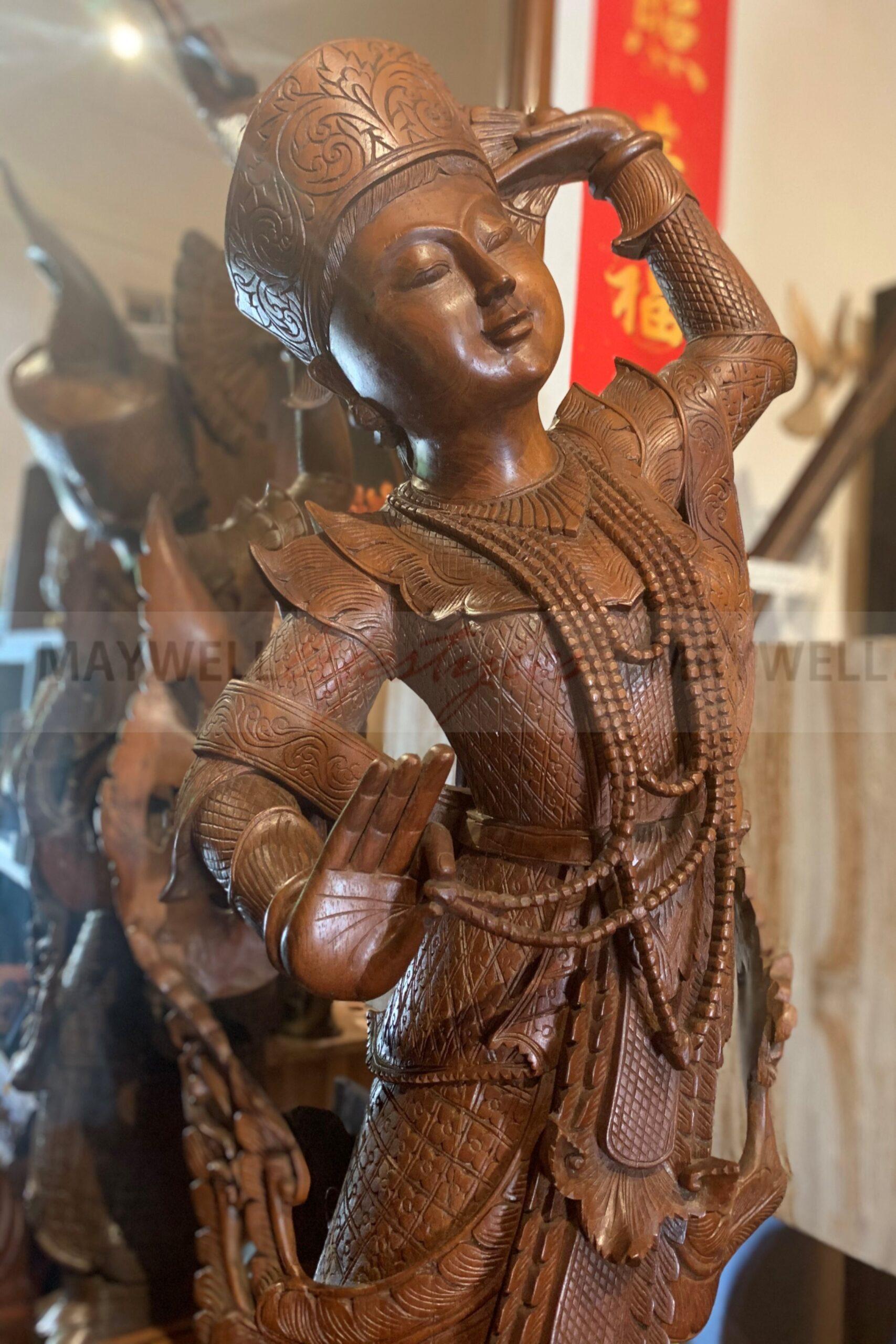 Burmese Traditional Dancer