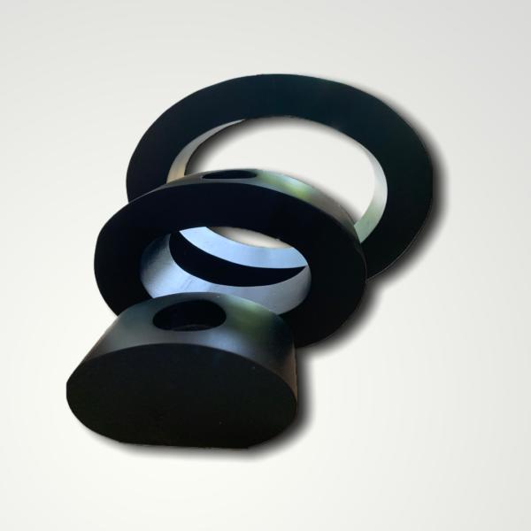 Block Oval Tea Light (Set of three)